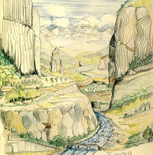 Rivendell by J. R. R. Tolkien