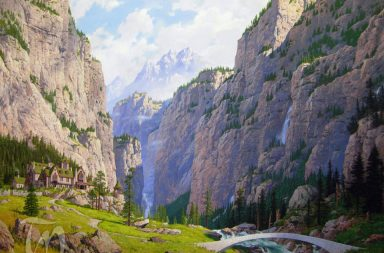 Ted-Nasmith-Fair_Valley_of_Rivendell